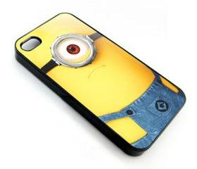 Despicable Me Minion Cyclops apple iphone 4 4s case cover