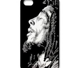 Raggae legend Bob Marley circle of life apple iphone 4 4s case cover