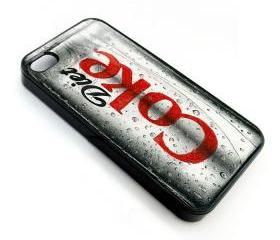 Coca cola Diet coke free hand sketch art drawing apple iphone 4 4s case cover