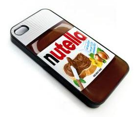Nutella HazelNuts Bottle apple iphone 4 4s case cover