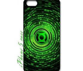 green lantern superhero logo apple iphone 5 case cover