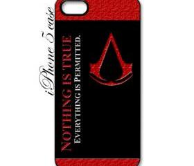 assassins creed logo apple iphone 5 case cover