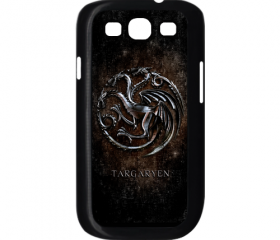 Cool Game of throne targaryen clan family silver wyvern logo samsung galaxy s3 i9300 case cover