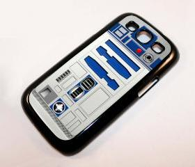 Cool funny cute retro star wars R2D2 robot droid samsung galaxy s3 i9300 case cover