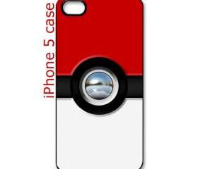 funny cute pokeball pokemon pikachu apple iphone 5 case cover