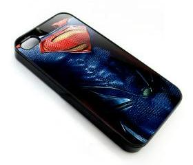 Superman man of steel body armor apple iphone 4 4s case