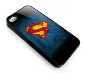 Superman man logo apple iphone 4 4s case