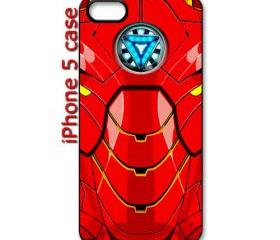 cool iron man 3 arc reactor body amor apple iphone 5 case cover