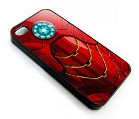 cool iron man 3 body amor logo apple iphone 4 4s case