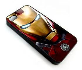 new cool superhero mask iron man apple iphone 4 4s case