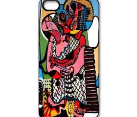 picasso the kiss art painting apple iphone 5 case cover