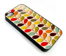 Multi stem leaf baloons pattern apple iphone 4 4s case