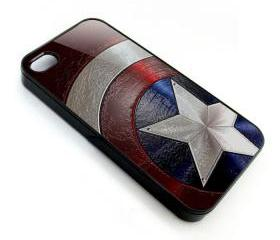 The Avengers captain america frozen shield logo apple iphone 4 4s case