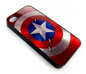 The Avengers captain america logo apple iphone 4 4s case