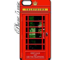 cute funny keep calm red british phone box apple iphone 5 case cover