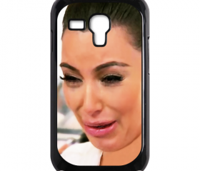 Funny Cute Sad Kim Kardashian Ugly crying face 02 samsung galaxy s3 mini case cover