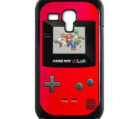 Funny Cute red Game Boy Design samsung galaxy s3 mini case cover