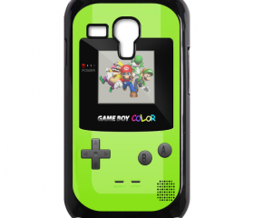 Funny Cute green Game Boy Design samsung galaxy s3 mini case cover