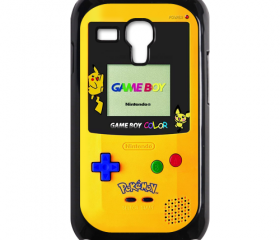 Funny Cute pokemon pikachu Game Boy Design samsung galaxy s3 mini case cover